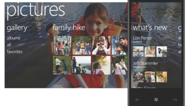 Windows Phone 7 Pics screen