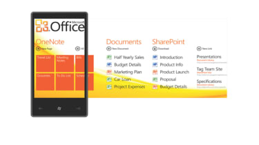 Windows Phone 7 Office screen