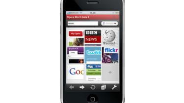 Opera Mini on iPhone