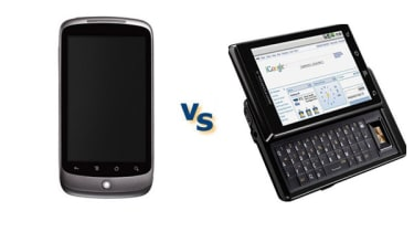 Google Nexus One vs Motorola Milestone