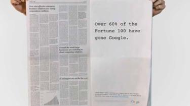Google 'Gone Google' ad campaign