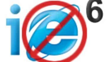 IE6 no more!