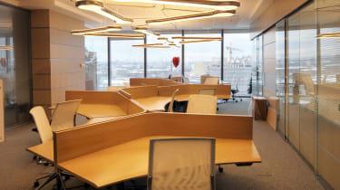 Empty desks