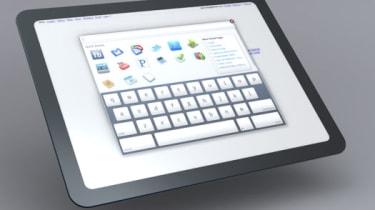 Google tablet mockup