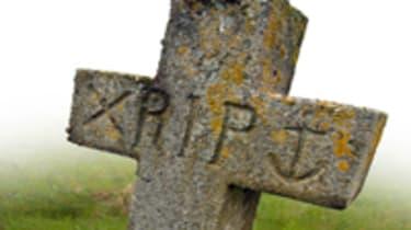 RIP grave stone