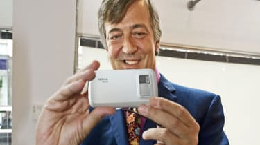 Stephen Fry at Nokia N97 launch