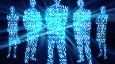 cyber blue people