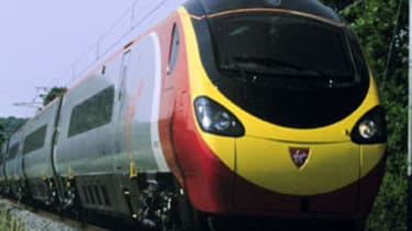 Virgin Pendolino Train