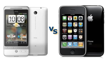 Apple iPhone 3GS vs HTC Hero
