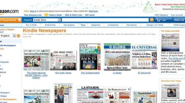 Newspapers on Amazon.com