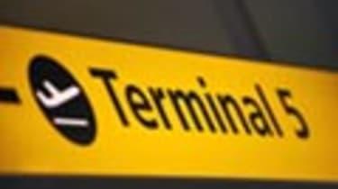 Terminal 5 sign