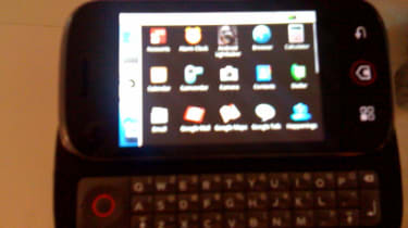 Motorola DEXT slide-out keyboard