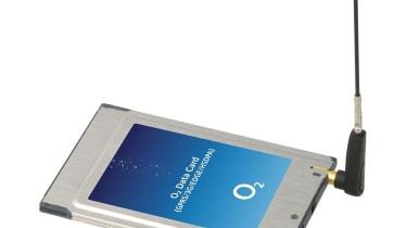 Step 4: O2: Sierra Wireless AirCard 850 data card