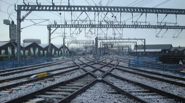 Network Rail railway track