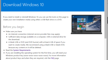 How to download and carry out a clean install of Windows ...