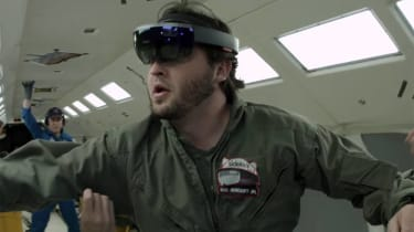Microsoft HoloLens boldly goes into space