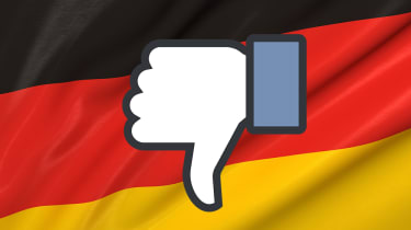 Facebook dislike Germany
