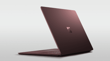 Surface Laptop burgundy trim