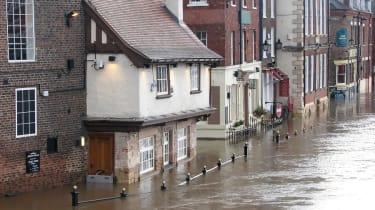 Flood in York