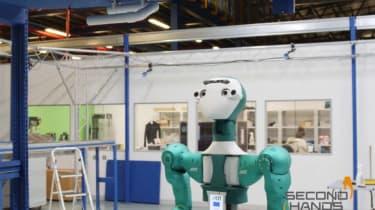 Ocado's SecondHands robot.