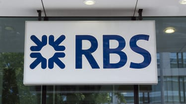 RBS logo on a branch