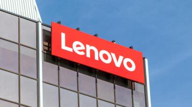 Lenovo building logo