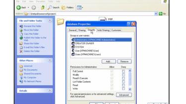 Microsoft Jet database interface