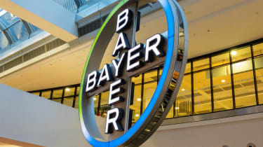 Bayer pharmaceuticals sign