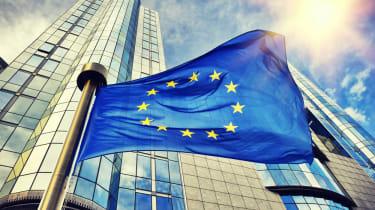 EU commission flag