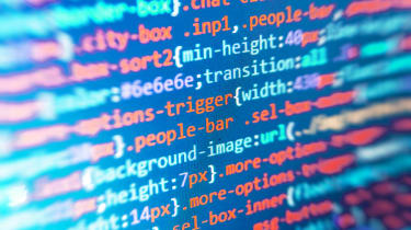 Image of generic lines of code to indicate hackers at work