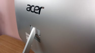 Acer Aspire U27-880 rear logo