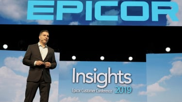 Epicor CEO Steve Murphy at 2019's Insights conference