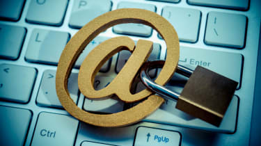 Image depicting email security