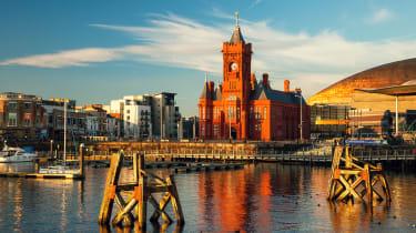 Cardiff bay, Wales