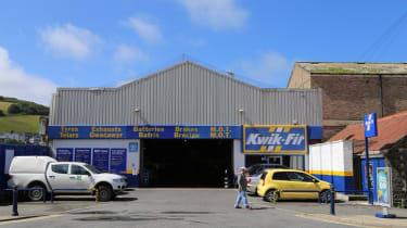 Kwik Fit garage in Wales