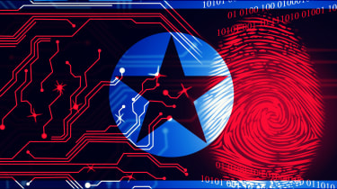 Image concept depicting North Korean malware