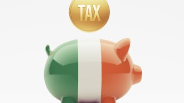 Irish piggy bank