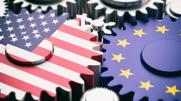 Image depicting US and EU working together