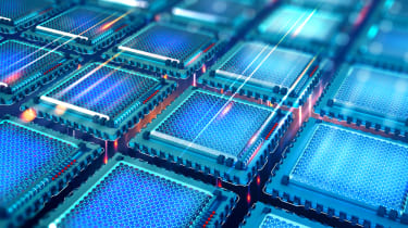 Quantum computing chips