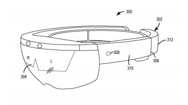 The patent design for a cooling system in future HoloLens devices