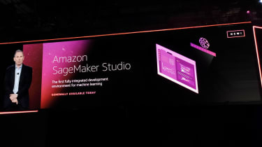 AWS SageMaker Studio launch at Re:Invent 2019