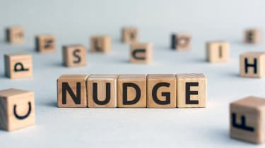 Nudge behaviour change