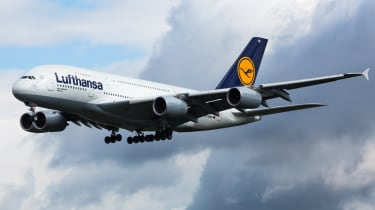 Lufthansa flight