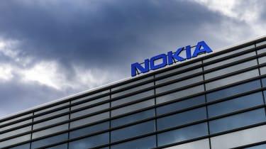 A shot of Nokia's headquarters in Helsinki