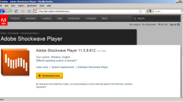 Adobe Shockwave Player in Mozilla Firefox
