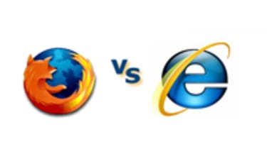 Firefox vs Internet Explorer head to head