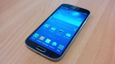 Samsung Galaxy S4 front