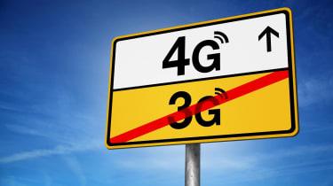 4G road sign
