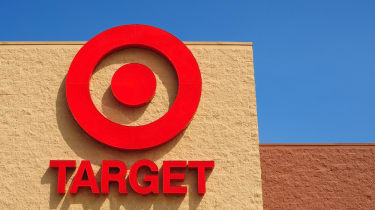 Target sign on the front of a store