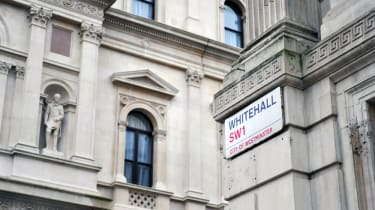 Photograph of Whitehall in the daytime